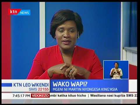 Wako Wapi? Ni zamu ya Martin Nyongesa,mtangazaji wa siku nyingi wa KBC