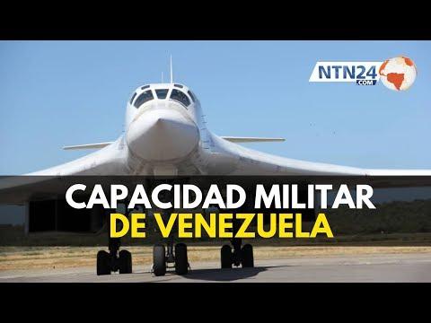 ¿Con qué capacidad militar cuenta realmente Venezuela?