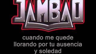 Jambao - nunca nunca (letra)