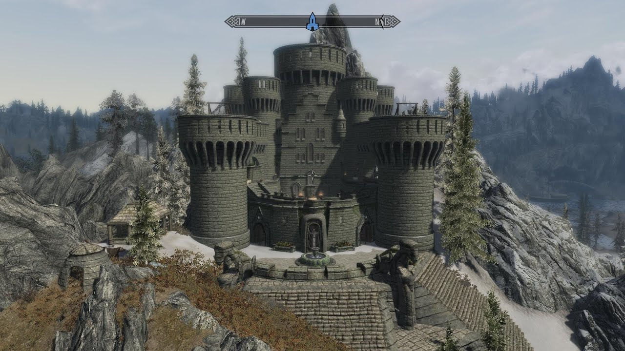 Skyrim Shadowstar Castle Mod Par Trd Fr Youtube