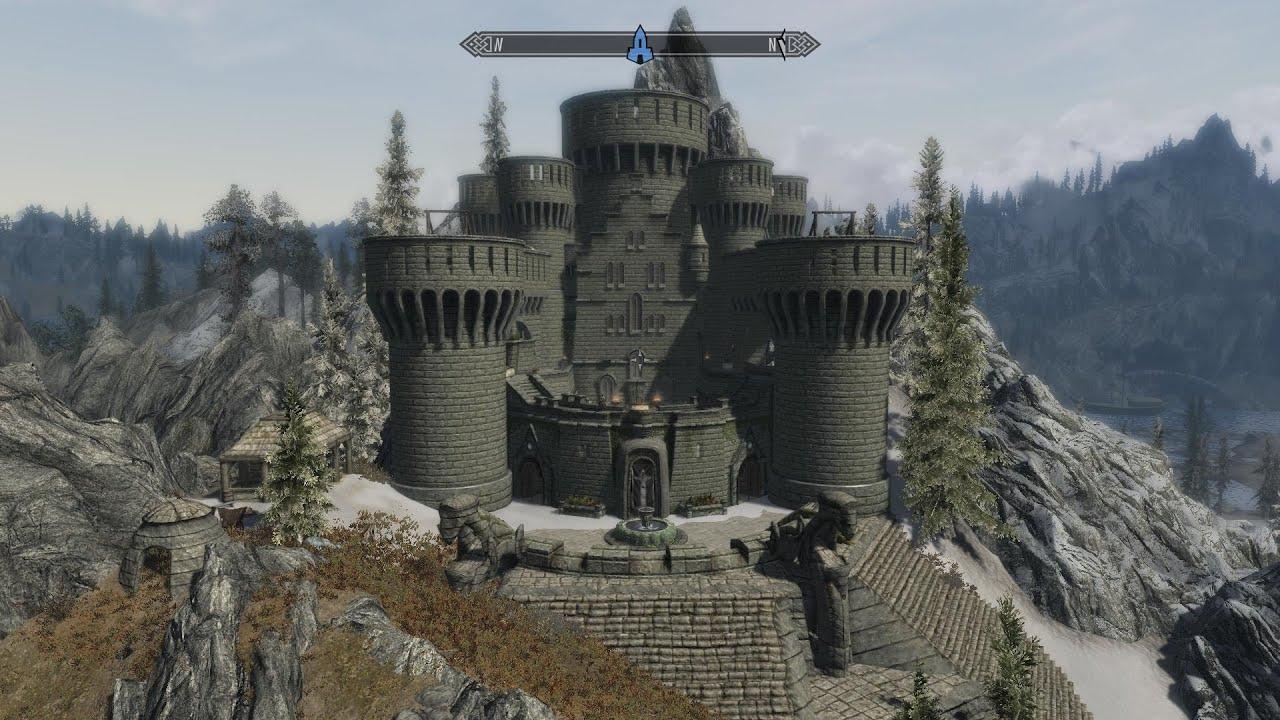 Skyrim Shadowstar castle mod par TRD Fr  YouTube