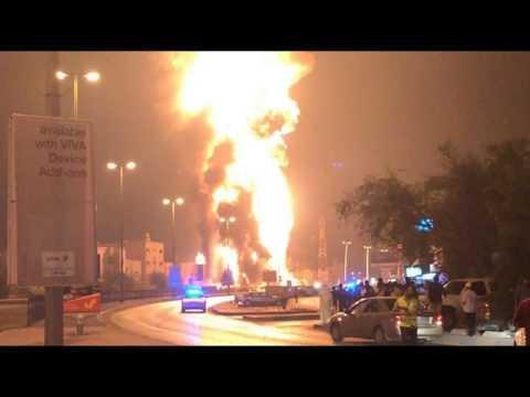 """Dangerous Iranian Escalation"": Bahrain Blames Pipeline Explosion On Iran, Terrorists"