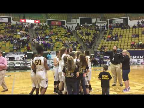 Florien High School Lady Blackcats | 2017 LHSAA Girls' Basketball Class B Champs