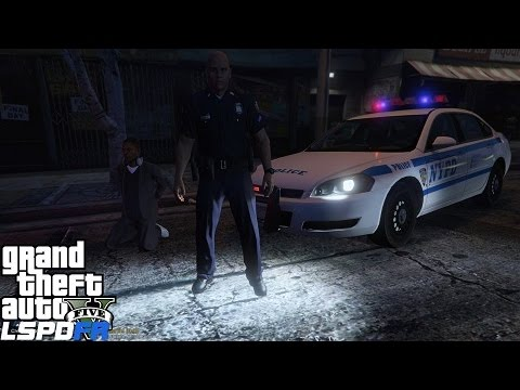 GTA 5 LSPDFR 0.3 Police Mod 101| NYPD Chevy Impala | New York City Themed Patrol