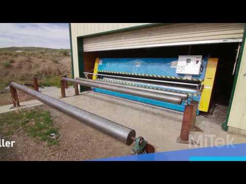 MACHINERY - MiTek Truss Assembly Finish Roller