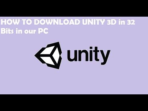 descargar unity 3d 32 bits español