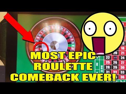 Most Epic Roulette Comeback EVER!!!