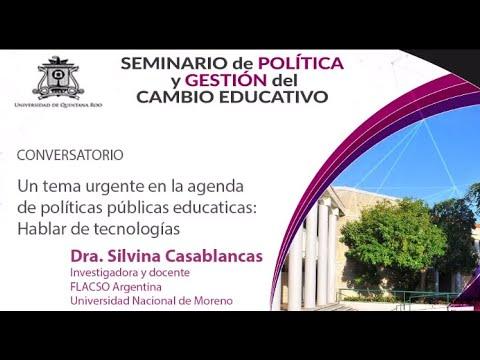 Las tecnologías en la agenda de políticas públicas educativas.