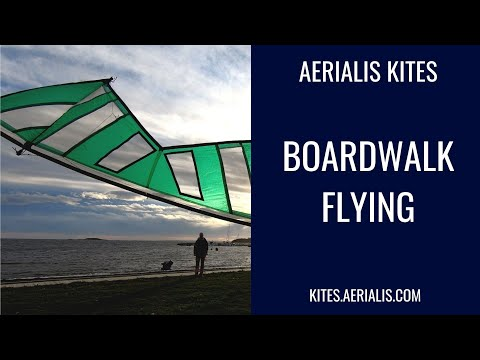 Boardwalk Flying - 4K