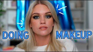 DOING MY MAKEUP lol | Samantha Ravndahl