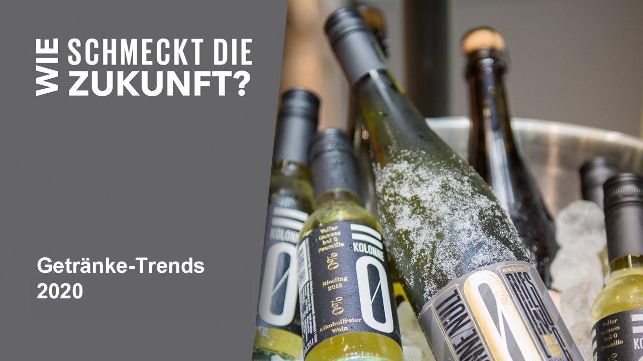 Getränke-Trends auf der Grünen Woche: Was trinken wir 2020?