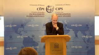 David Malone: How might we think about development? (September 28, 2011)