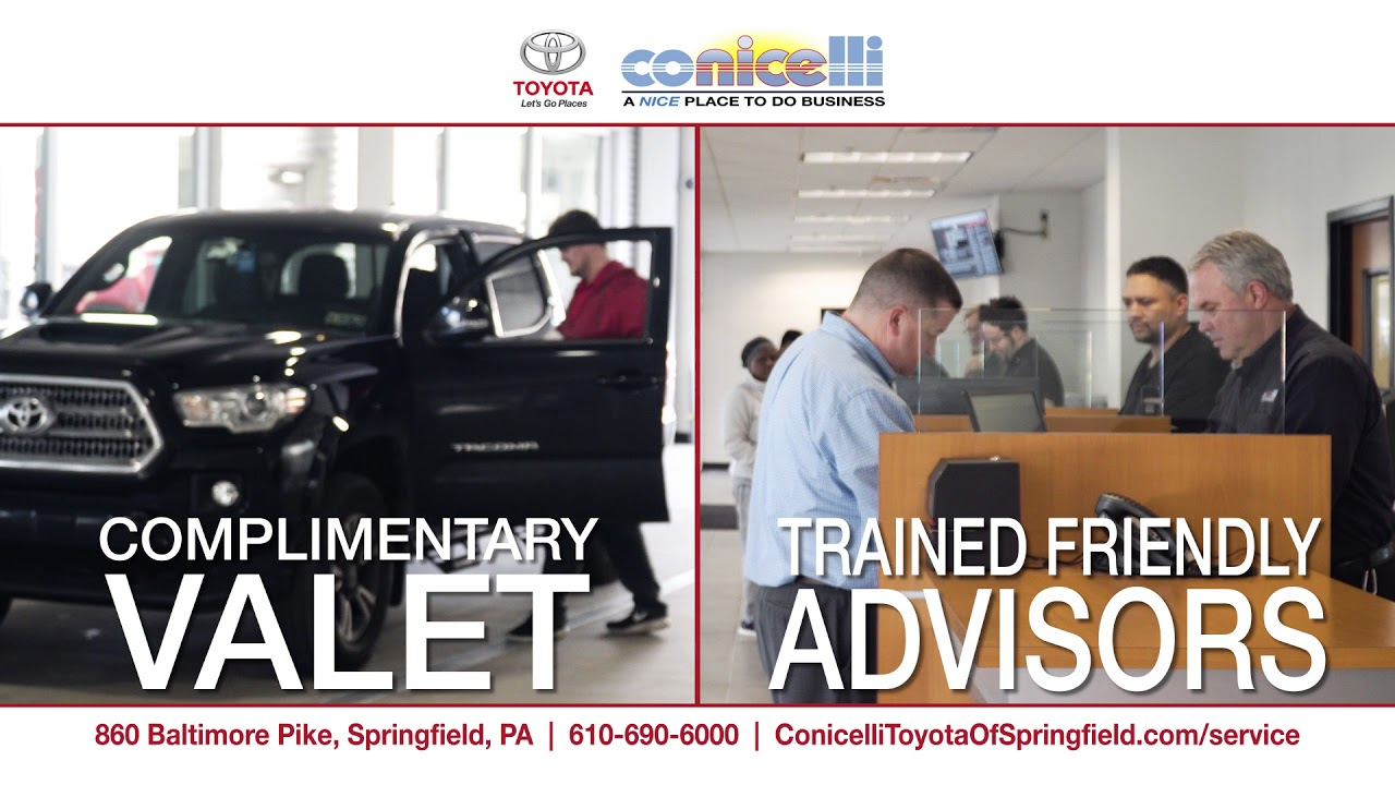 Conicelli Toyota Of Springfield Service Brief Overview