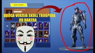 FORTNITE HAKER MI JE DAO DRUGU VERZIJZU SKULL TROOPER SKINA Fortnite: Battle Royale