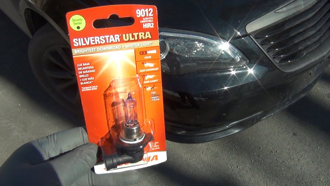 Trying Sylvania Silverstar Ultra Halogens Bulbs (9012/HIR2)