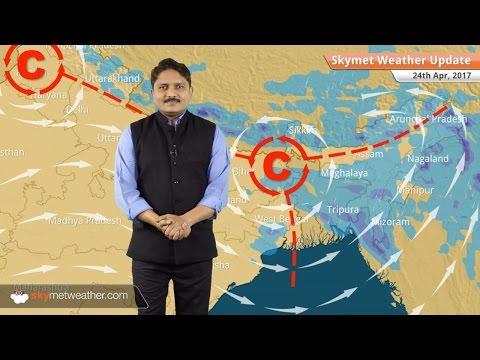 Weather Forecast for April 24: Rain in Kashmir, Bihar, Northeast; heatwave in central India