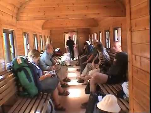 SYRIA  -  DAMASCUS TO AMMAN  by train in a carriage built in 1905