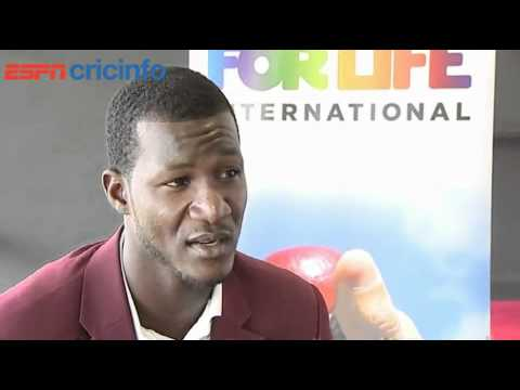 Alison's Tea Break: Darren Sammy