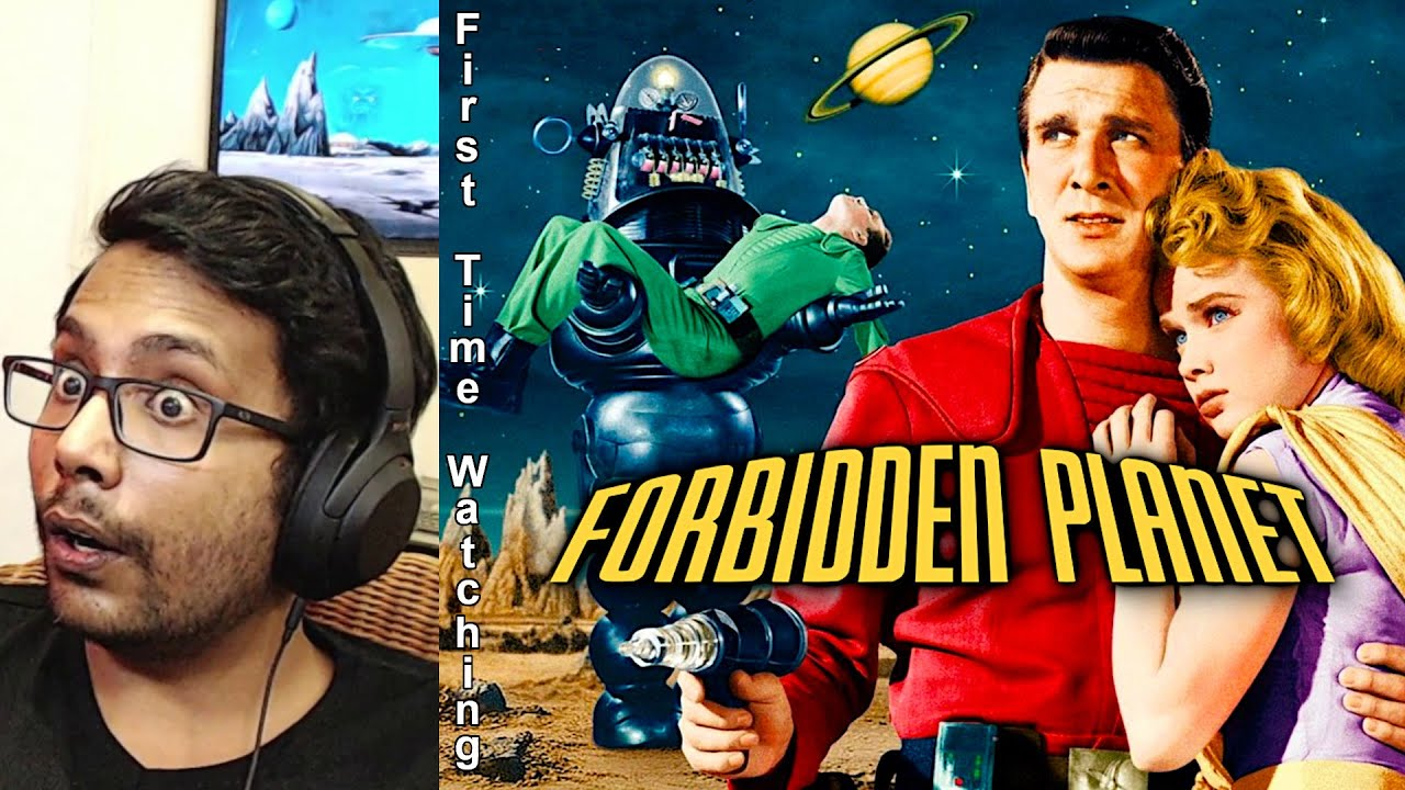 Forbidden Planet (1956) Reaction & Review! FIRST TIME WATCHING!!