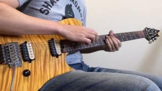 Van Halen Panama Guitar Cover (standard tuning)
