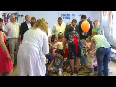 Руководство СК банка ОАО «Сбербанка России» побывало  в доме ребенка г. Черкесска