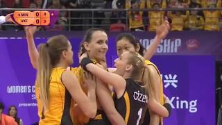 Vakifbank x Minas | 2018 Women's Club World Championship  | Final set1
