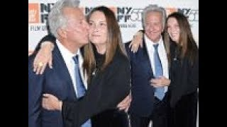 Dustin Hoffman kisses wife of 37 years Lisa at New York Film