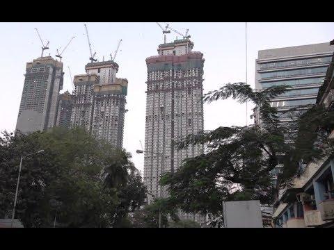 India's Top Most Premium Skyscrapers  In Mumbai - Lodha World One, World Crest, Park & Trump Towers
