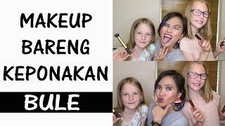 Makeup Bareng Keponakan Bule