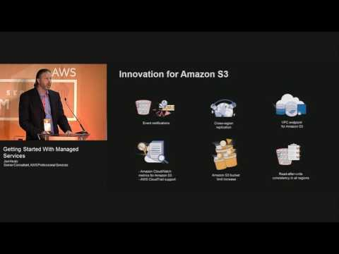 Getting Started with Managed Services  | AWS Public sector Summit 2016