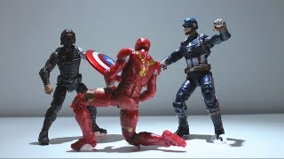 Captain America Civil War - Part 3: Catastrophe (Stop Motion Film)