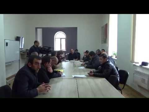 Թումանյան համայնքի ավագանու արտահերթ նիստ 21.02.20