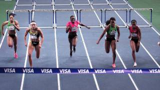 Lolo Jones 50M Hurdles Win At Madison Square Garden