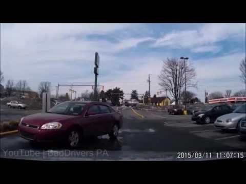 Worst Pennsylvania Drivers 2015 Part 1 - Car Crashes, Near Accidents, Idiots