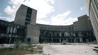 Almost Busted Exploring a Huge Abandoned Hospital