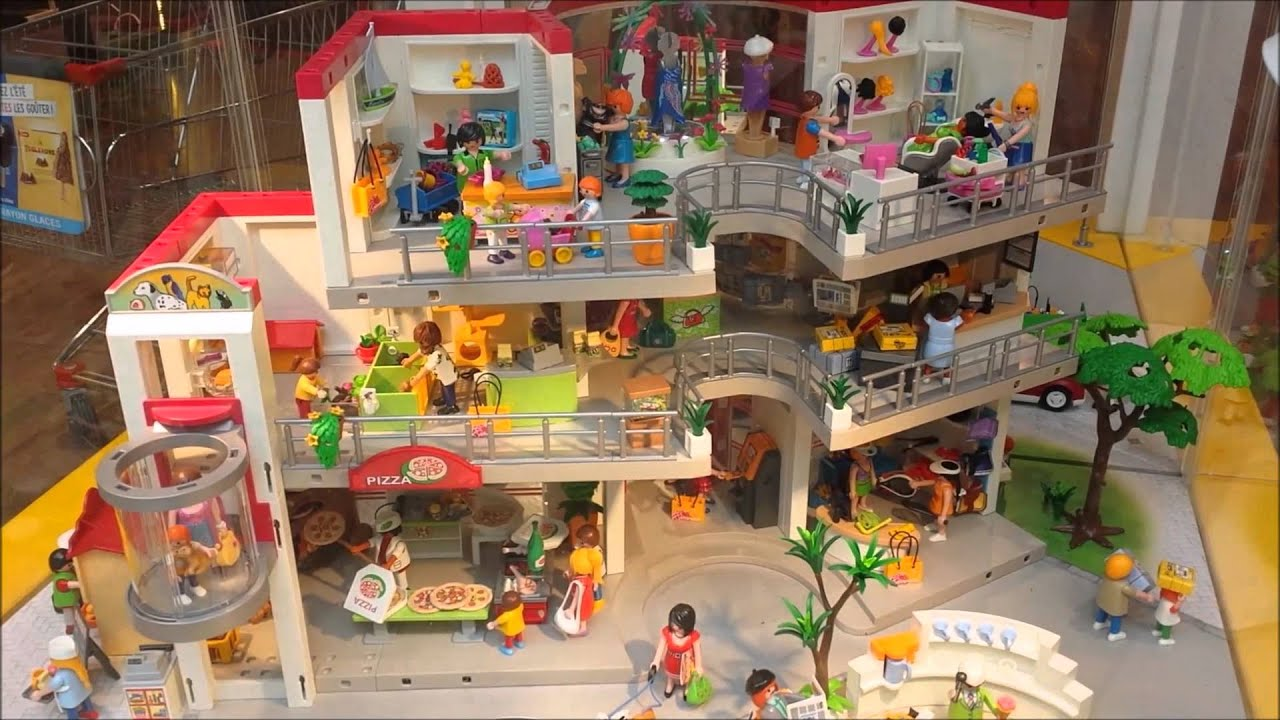 Exposition playmobil le 03 06 2015 youtube - Toutes les maisons playmobil ...