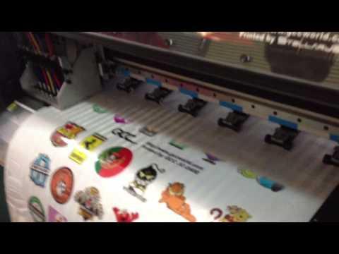 Gcc jc 240e print reflective sticker