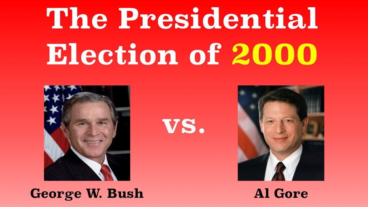 Image result for the election of george w. bush in 2000