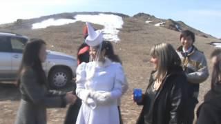 Бурятская свадьба Батора и Алтаны апрель 2010 из видео