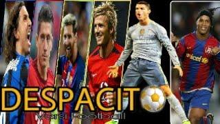 """DESPACITO nama pemain sepakbola terkeren abad ini  """" soccer edition """" ( cover )"""