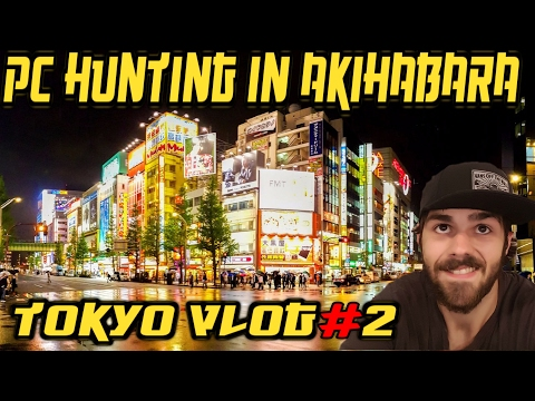 Electronics Store Akihabara | Tokyo Travel VLOG # 2