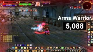 World of warcraft  burst of all class 3.3.5