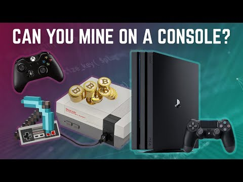 Time to Start Mining on Gaming Consoles?