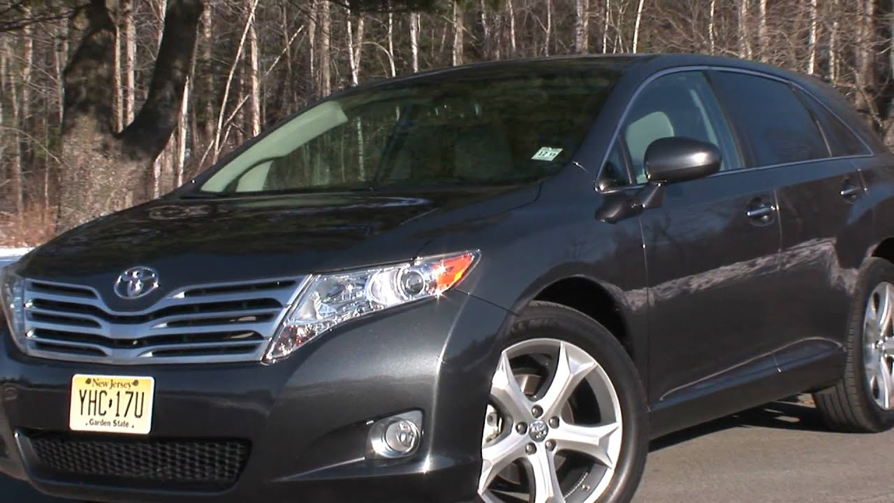 2010 Toyota Venza V6 Awd Drive Time Review Youtube