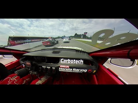 Experience Mid Ohio SCCA Club Racing in 360 Degree Video