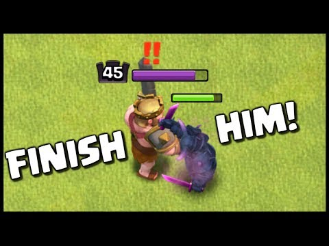 MAX KING Vs MAX LEVEL 6 PEKKA - Clash Of Clans New Update - Epic CoC Battle!