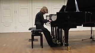 Debussy Doctor Gradus ad Parnassum A.Shilo 8year. ЦМШ(К.Дебюсси