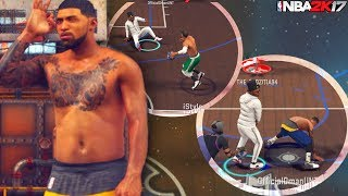 Everyone's Ankles Are Gone! Shooting White Bars! NBA 2K17 MyPark