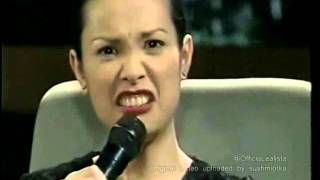 Lea Salonga talks about Aga Muhlach in Sharon (1999)