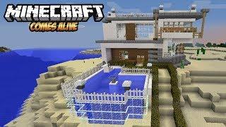 BIKIN RUMAH SUPER MEWAH - Minecraft Comes Alive